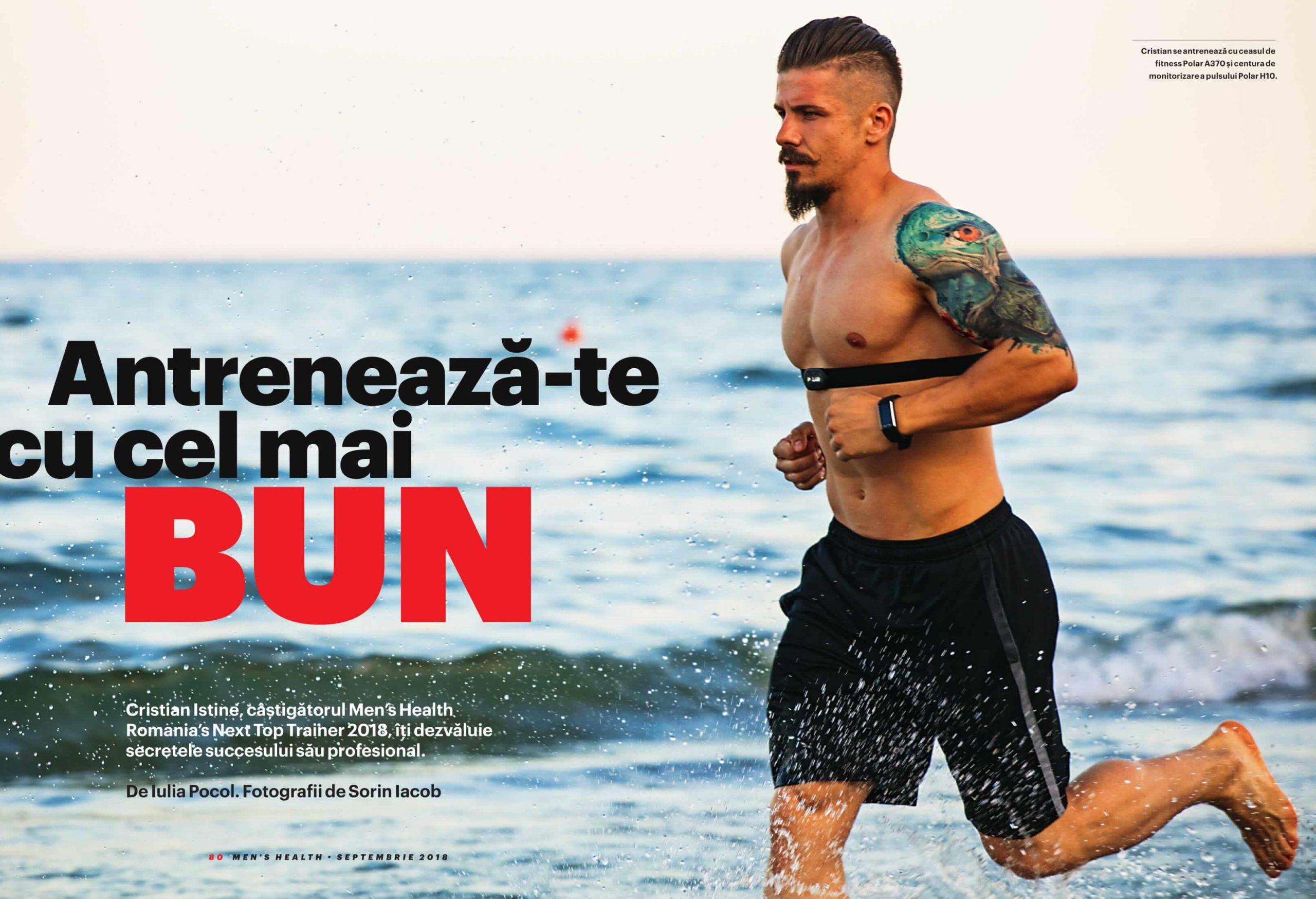 Cristian Istine - Fitness Expert - CASTIGATORUL MEN'S HEALTH ROMANIA NEXT TOP TRAINER 2018